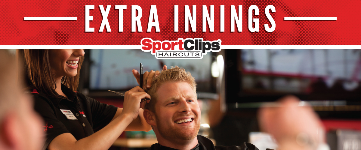 The Sport Clips Haircuts of Palm Beach Gardens Extra Innings Offerings